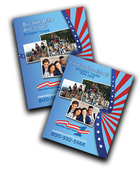 Carolina and New York Metro Area Student Tour Brochure
