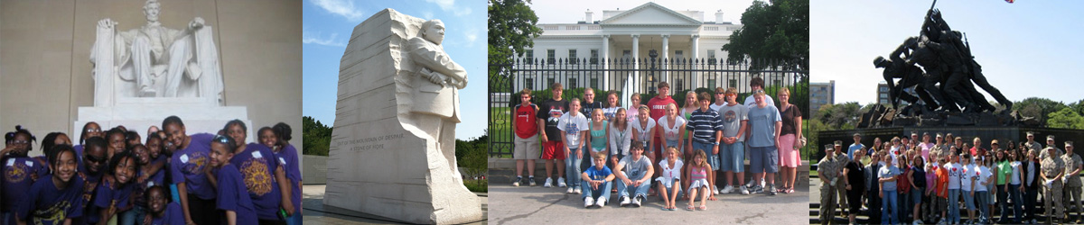 WashintonDC Student Extended Travel Tours Bannner 1